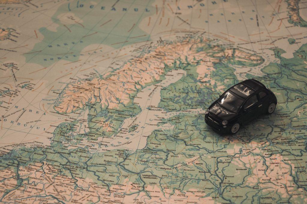 Regeln zum Camping im Auto außerhalb Deutschlands
