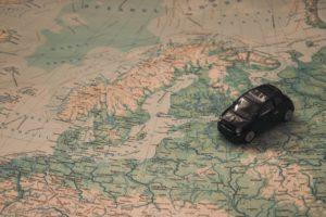 Landkarte Auto