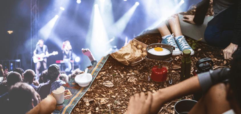 Übernachtung im Auto auf Festivals