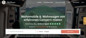 PaulCamper - Wohnmobil Sharing Plattform