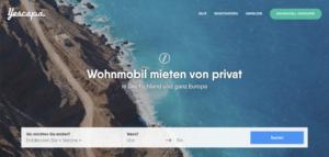 Yescapa - Wohnmobil Sharing Plattform