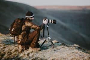 VanLife Fotographer Work Camera Nature