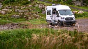 VanLife und Camping im Ford Transit Campervan