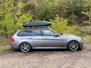 BMW 3er Touring E91 Dachbox Thule Pacific 600